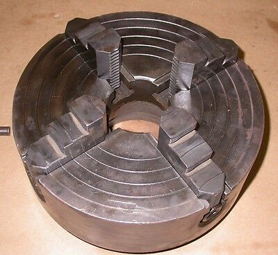 """10"""" Four Jaw Lathe Chuck w/ an L1 Spindle Mount"""