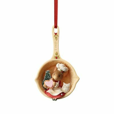 Enesco H7 Heart of Christmas Mice – Mouse Measuring Cup Ornament 4057660