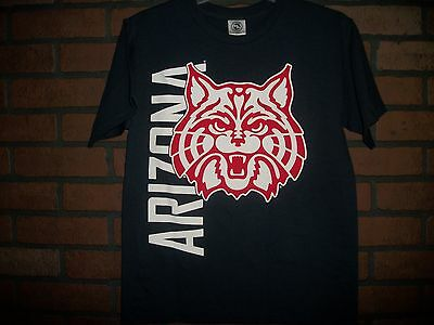 Kids Children T-SHIRT ARIZONA WILDCATS Size YOUTH LARGE Color BLUE (T454)