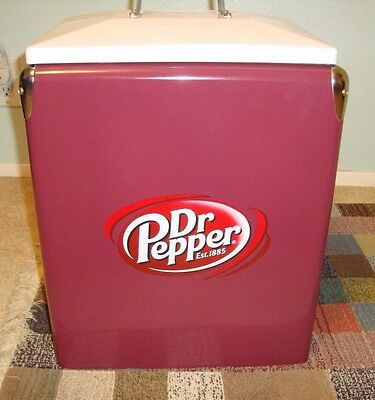Vintage style Dr. Pepper Cooler (New, never used)