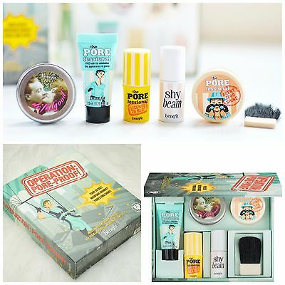 AUTHENTIC❤Benefit Pore-Proof Kit/Pore Balm, Shy Beam, Dr.FeelGood, Zero Shine❤