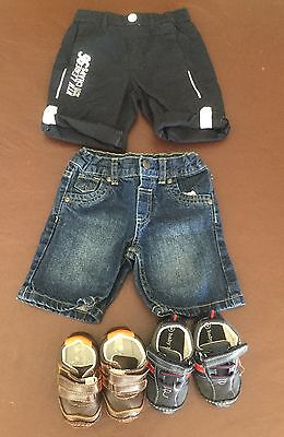 Baby/Toddler Boys Clothing - Shorts (size 1) And Shoes