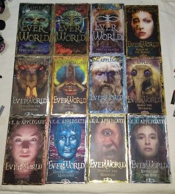 Complete Set Books 1-12 Ever World Series by K.A. Applegate