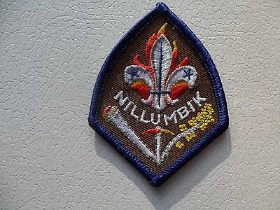 Nillumbik District Victoria Australian Scout Embroidered Cloth Badge