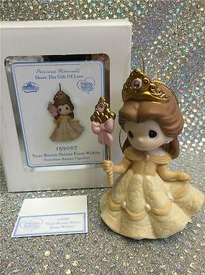 Precious Moments Ornament Your Beauty Shines From Within Belle *signed* @ D23