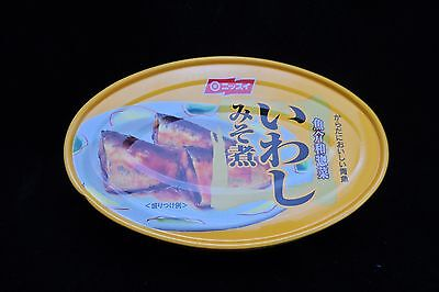 Nissui Iwashi Misoni (Cooked Sardines with Miso)  4 CANS FREE POST HEALTHY SNACK
