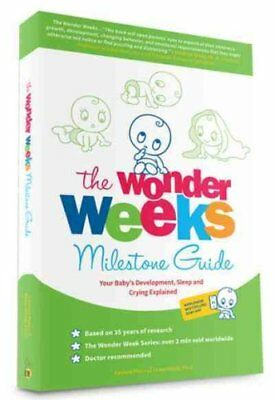 The Wonder Weeks Milestone Guide Your Baby's Development, Sleep... 9789491882135