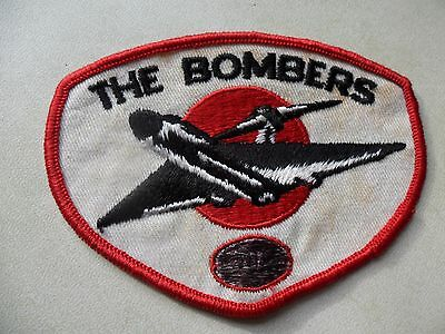 The Bombers AFL Embroidered Woven Cloth Badge