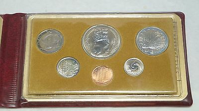 Singapore 1980 KM#MS16 6 Coin Mint Set Original Wallet COA Year of the Monkey.