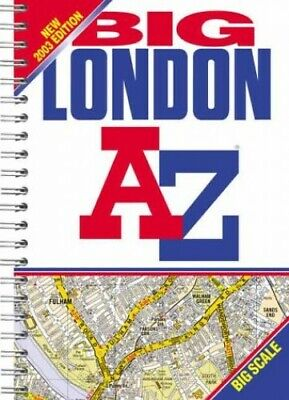 A-Z London Big Street Atlas by Geographers' A-Z Map Company Paperback Book The