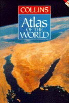 Collins Atlas of the World Hardback Book The Cheap Fast Free Post