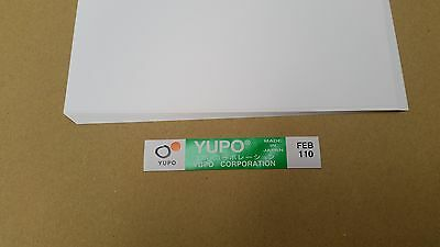 Yupo FEB 110 - 85 GSM (110 micron) Synthetic Paper 40 sheets 220mmx320mm