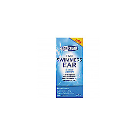 NEW Ear Clear Swimmers Ear 40ml