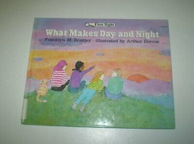 What Makes Day and Night (First Sight), Branley, Franklyn M. Paperback Book The