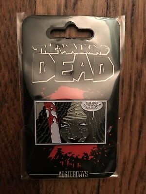 """The Walking Dead """"RUN TWD ESCAPE"""" XL Shirt Black Blood Skybound Exclusive NEW!"""