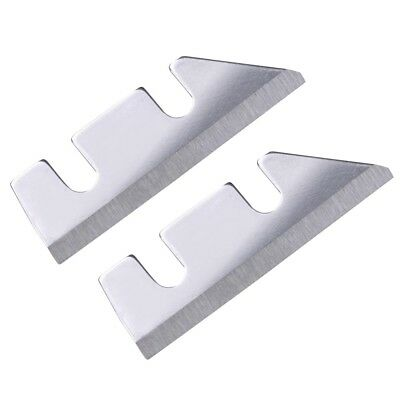 2 Pack Replacement Blades For Ice Shaver Machine Snow Cone Maker Crusher