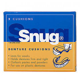 NEW Snug Denture Cushion -2 Pack