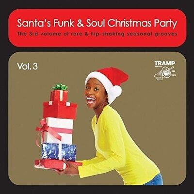 Various Artists - Santa's Funk & Soul Christmas Party Vol 3 [New CD] UK - Import