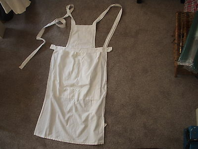 Vintage French Country Apron, Cotton handmade 6