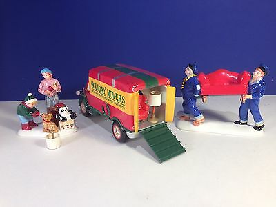 Dept 56 Snow Village MOVING DAY Set of 3 w/ box Combine Shipping!