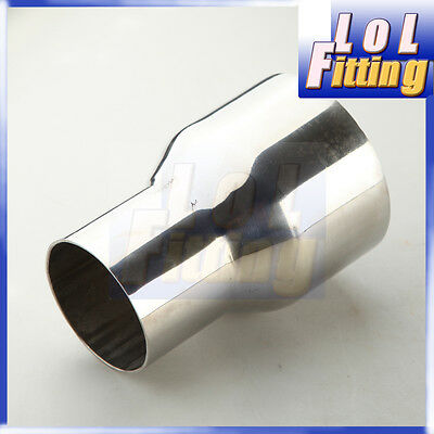 2.5  To 3.5  Inch Weldable Turbo/exhaust Stainless Steel Reducer Adapter Pipe Us & 3.5