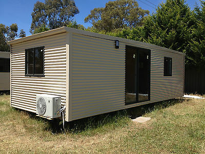 CABIN,GRANNY FLAT,DONGA,TEEN SPARE ROOM, RELOCATABLE HOME,  8X3.4m