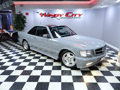 1990 Mercedes-Benz 500-Series 560 Series 2dr Coupe 560SEC Mercedes Benz 560SEC Coupe AMG Body Kit Lorinser Wheels Euro Headlights & More!