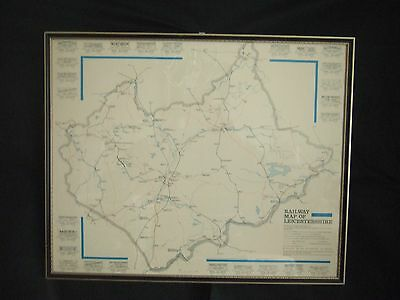 Railway map of Leicestershire from 1832 to modern times.