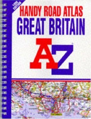 Handy Road Atlas of Great Britain 1998 by Geographers' A-Z Map Company Paperback