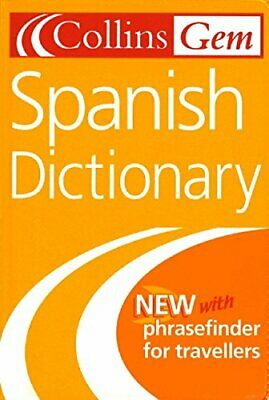 Collins Gem Spanish Dictionary (Collins Gems) Paperback Book The Cheap Fast Free