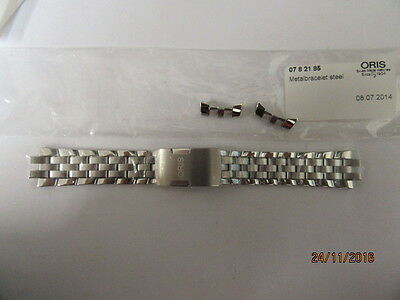Genuine Oris Watch Bracelet 0782185 For 7662 Models With End Pieces