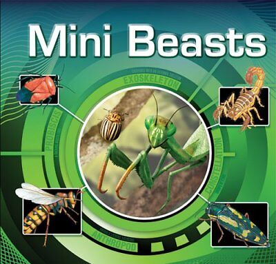 Mini Beasts (Lenticular Books), Assorted Paperback Book The Cheap Fast Free Post