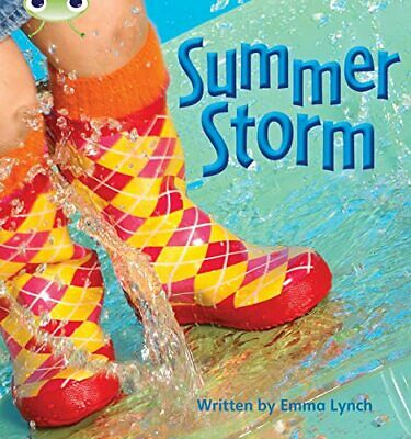 Summer Storm: Bug Club Phonics Bug Non-fiction Set 1... by Lynch, Emma Paperback