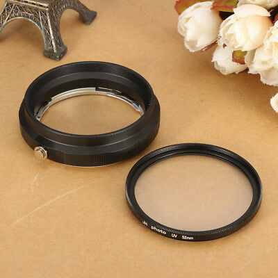 52mm Macro Lens Reverse Adapter & Protection Filter Ring For Nikon AI AF Mount