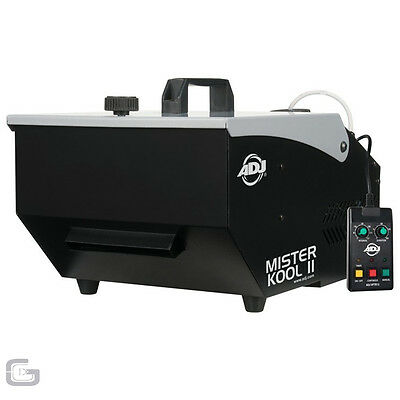 ADJ Mister Kool II Low Fog Smoke Dry Ice Cloud Effect Machine Halloween Mr - NEW