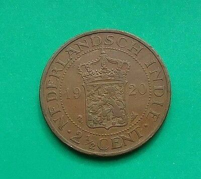 Netherlands East Indies 1920 2 1/2 cents