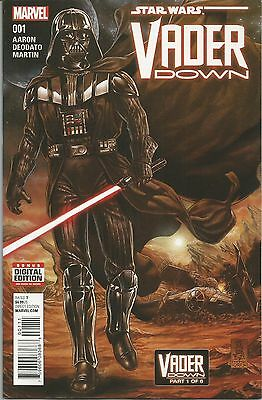 Star Wars: Vader Down #1 (January 2016, Marvel) First Issue! Art by Mike Deodato