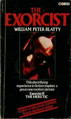 Exorcist by Blatty, William Peter Paperback Book The Cheap Fast Free Post