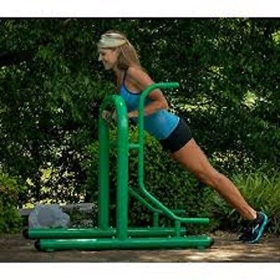Stamina Outdoor Fitness Multi-station 65-1380 Pull Up And Push Up Bars Home Gym