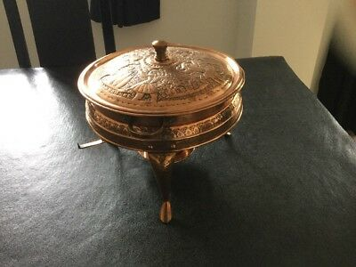 Copper Chafing Dish Nader