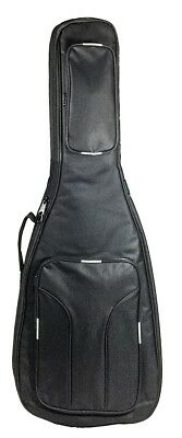 Gear Buddy Deluxe Padded Electric Guitar Gig Bag with Backpack Straps