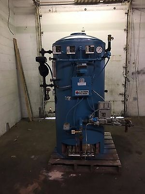 10 Hp Steam Boiler 150 PSI natural Gas with Return System