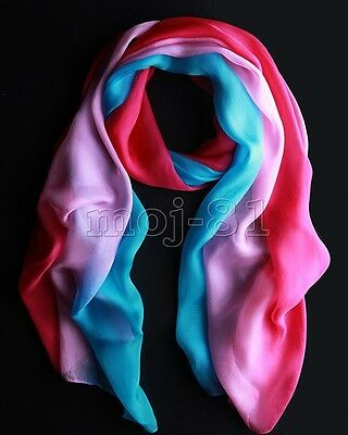 New Pretty Women Girls Fashion Long Soft Chiffon Scarf Wrap Shawl Scarves Stole