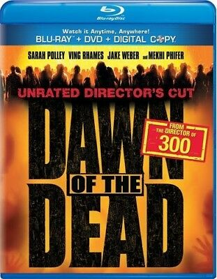 DAWN OF THE DEAD New Sealed Blu-ray + DVD 2004