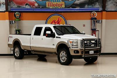 2011 Ford F-350 King Ranch 2011 White King Ranch!