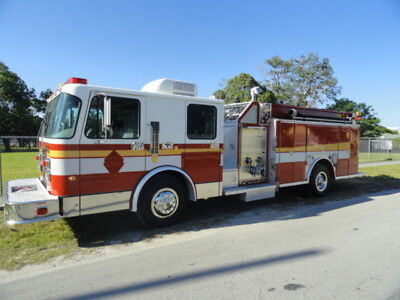 1998 Spartan Custom Emergency Rescue Pumper Fire Truck