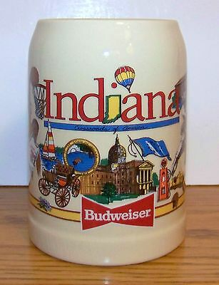 1992 BUDWEISER SPECIAl EVENTS INDIANA CROSSROADS OF AMERICA  STEIN - RARE