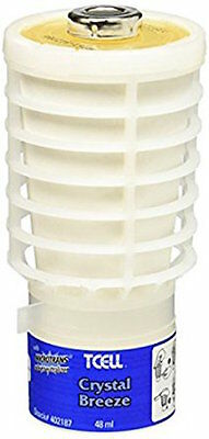 (1) Crystal Breeze TCell Rubbermaid Air Freshener Odor Control Refill 402187