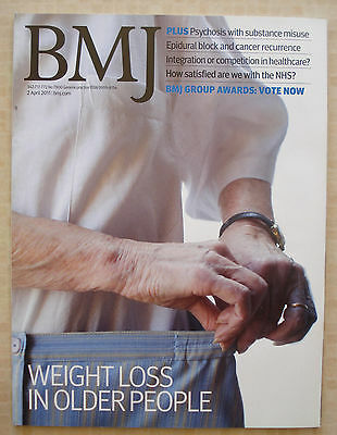 British Medical Journal 2 April 2011 Weight Loss Older People Cancer Recurrence