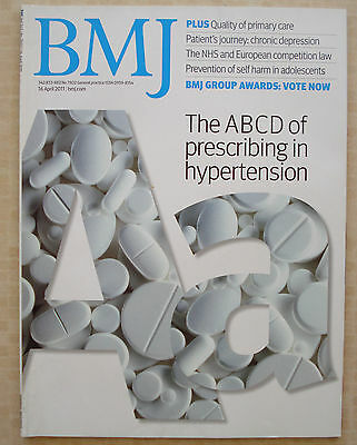 British Medical Journal 16 April 2011 Chronic Depression Self Harm Adolescents